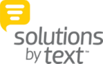 Solutions by Text Logo